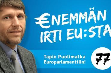 Tapio Puolimatka Europarlamenttiin