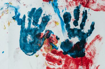 Lasten kädenjäljet